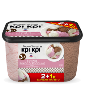 Heartmade Kri Kri Vanilla Cocoa Strawberry 3L