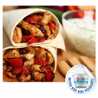 Chicken tortillas with yogurt